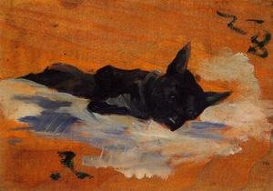 Reproduction oil paintings - Toulouse-Lautrec - LIttle Dog