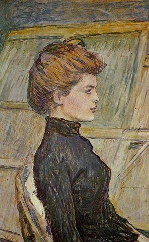 Reproduction oil paintings - Toulouse-Lautrec - Portrait of Helen (detail)
