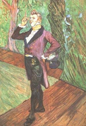 Reproduction oil paintings - Toulouse-Lautrec - Portrait of M. Samary