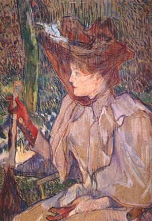 Reproduction oil paintings - Toulouse-Lautrec - Woman with Gloves
