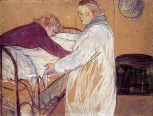 Reproduction oil paintings - Toulouse-Lautrec - Two Women Making the Bed