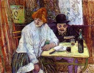 Reproduction oil paintings - Toulouse-Lautrec - The Last Crunbs