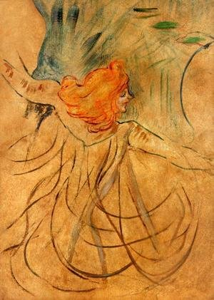 Reproduction oil paintings - Toulouse-Lautrec - At the Music Hall - Loie Fuller