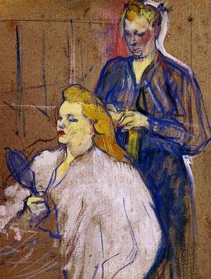 Reproduction oil paintings - Toulouse-Lautrec - The Haido