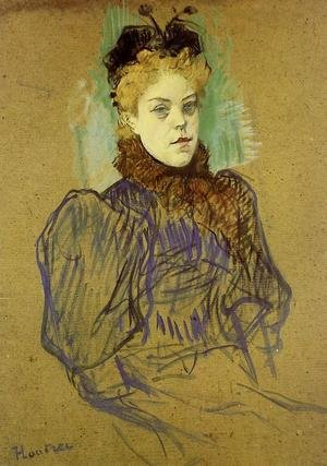Reproduction oil paintings - Toulouse-Lautrec - May Milton 2