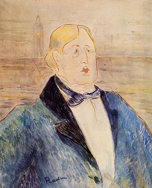 Reproduction oil paintings - Toulouse-Lautrec - Oscar Wilde
