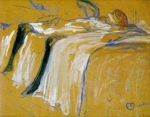 Reproduction oil paintings - Toulouse-Lautrec - Alone
