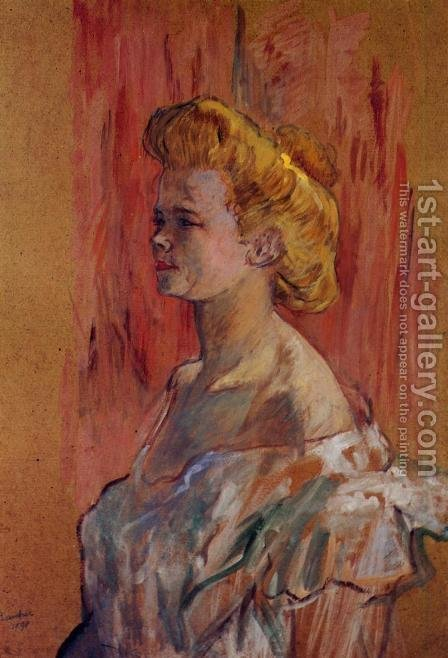 Prostitute: the Sphinx by Toulouse-Lautrec - Reproduction Oil Painting