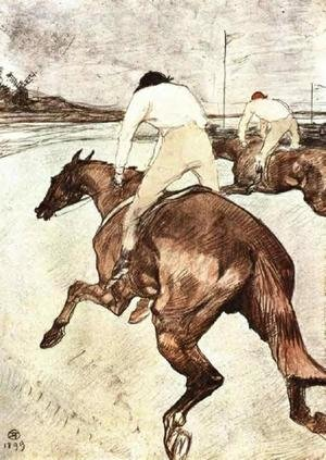 Reproduction oil paintings - Toulouse-Lautrec - The Jockey 2