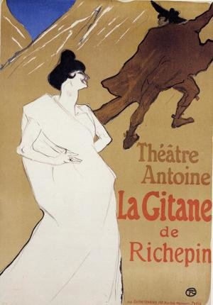 Reproduction oil paintings - Toulouse-Lautrec - La Gitane 'The Gypsy'