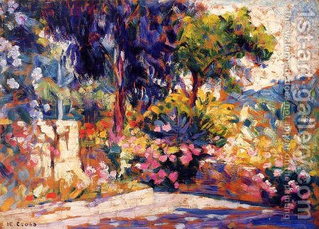 The Flowered Trees by Henri Edmond Cross - Reproduction Oil Painting