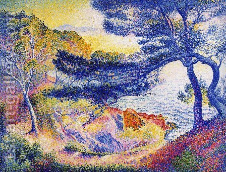 Cape Layet, Provence by Henri Edmond Cross - Reproduction Oil Painting
