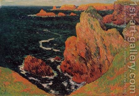 Belle-Ile by Henri Moret - Reproduction Oil Painting