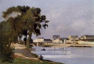 Reproduction oil paintings - Stanislas Lepine - View of the Seine