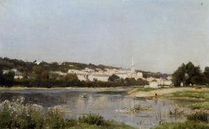 Reproduction oil paintings - Stanislas Lepine - The Banks of the Saine at St. Cloud