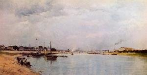 Reproduction oil paintings - Stanislas Lepine - The Seine at Ivry