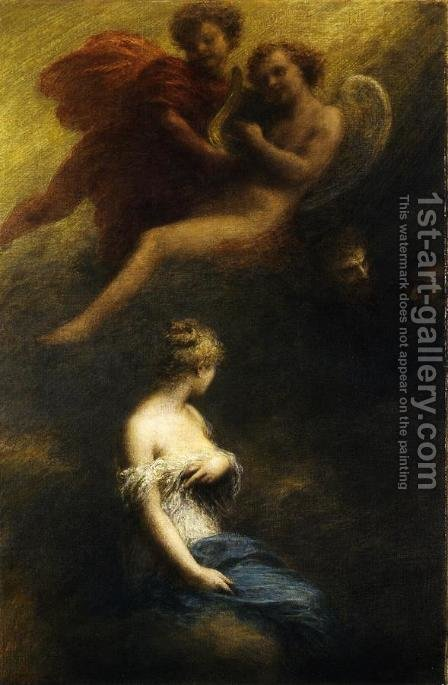 The Damnation of Faust by Ignace Henri Jean Fantin-Latour - Reproduction Oil Painting