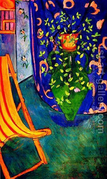 corner of  studio by Henri Matisse - Reproduction Oil Painting