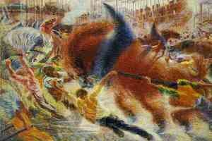 Famous paintings of Horses & Horse Riding: City