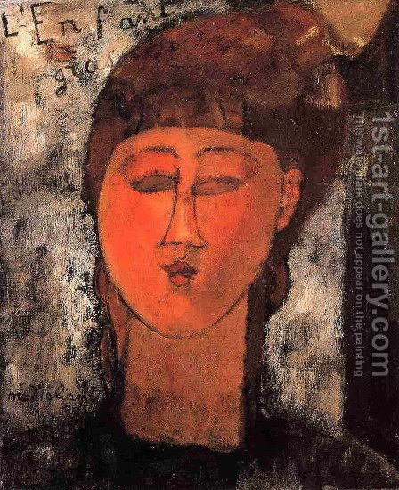 Fat Child by Amedeo Modigliani - Reproduction Oil Painting