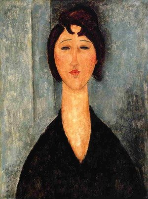 Reproduction oil paintings - Amedeo Modigliani - Portrait of a Young Woman I