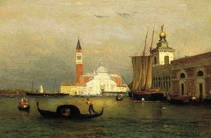 Reproduction oil paintings - George Inness - Twilight in Venice