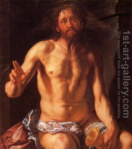 Christ the Redeemer by Hendrick Goltzius - Reproduction Oil Painting