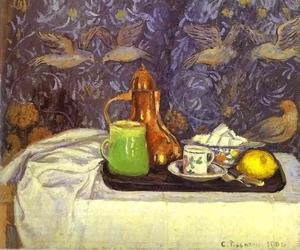 Famous paintings of Teapots: Still Life with a Coffee Pot