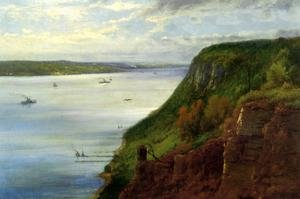 Reproduction oil paintings - George Inness - The Palisaides