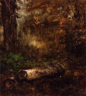 Reproduction oil paintings - George Inness - The Log