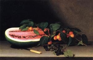 Reproduction oil paintings - Raphaelle Peale - Still Life with Watermelon