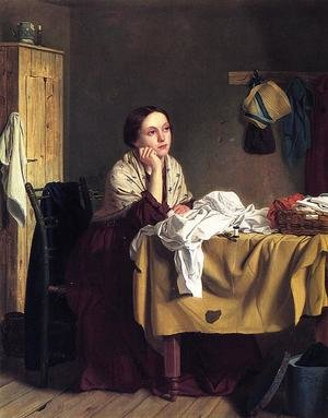 Famous paintings of Furniture: The Song of the Shirt