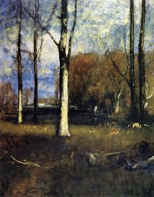 Reproduction oil paintings - George Inness - The Pond
