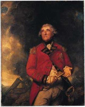 Reproduction oil paintings - Sir Joshua Reynolds - Lord Heathfield of Gibraltar