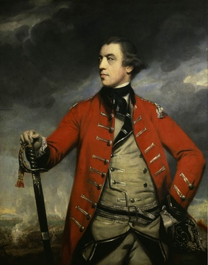 Sir Joshua Reynolds reproductions - General John Burgoyne