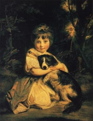 Reproduction oil paintings - Sir Joshua Reynolds - Miss Jane Bowles