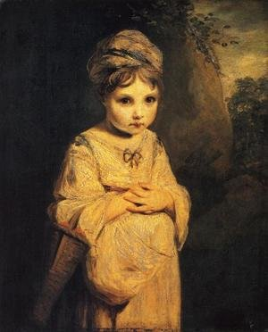 Sir Joshua Reynolds reproductions - The Strawberry Girl