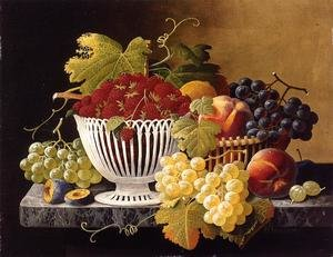 Still Life with Strawberry Basket