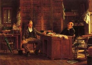 Famous paintings of Furniture: A Country Lawyer
