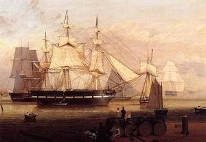Reproduction oil paintings - Fitz Hugh Lane - Boston Harbor