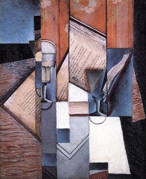 Reproduction oil paintings - Juan Gris - The Book