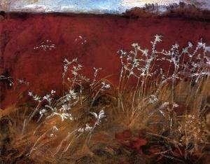 Reproduction oil paintings - Sargent - Thistles