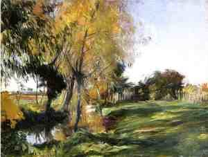 Reproduction oil paintings - Sargent - Landscape at Broadway