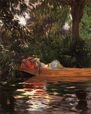 Reproduction oil paintings - Sargent - Under the Willows