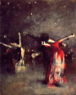 Reproduction oil paintings - Sargent - Study for 'The Spanish Dancer'
