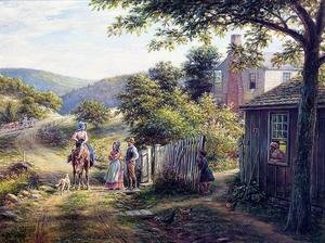 Reproduction oil paintings - Edward Lamson Henry - In East Tennessee