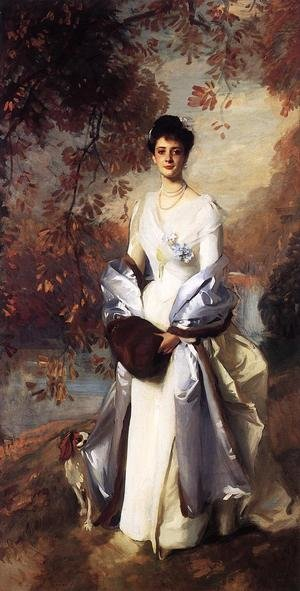 Reproduction oil paintings - Sargent - The Honourable Pauline Astor