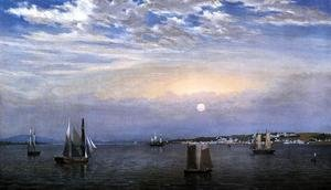Reproduction oil paintings - Fitz Hugh Lane - Castine