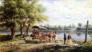 Edward Lamson Henry reproductions - Waiting for the Ferry