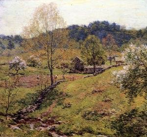Reproduction oil paintings - Willard Leroy Metcalf - Maytime